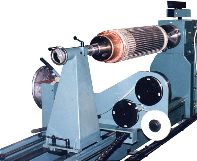 Armature Banding Machines Medium To Large Sized Armatures